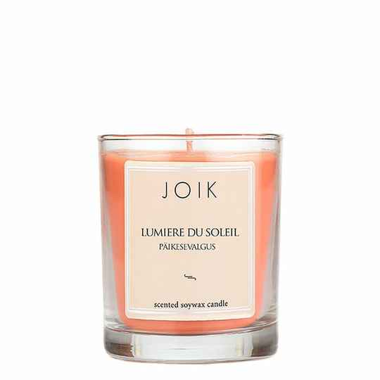 JOIK soywax scented candle Lumiere du Soleil