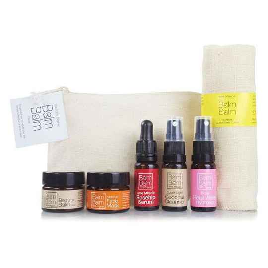 Balm Balm Starter Set Organic Cotton Bag