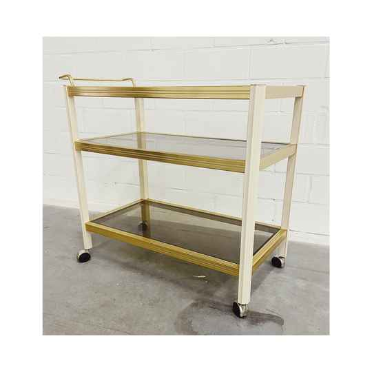 Vintage Messing Bar-Cart