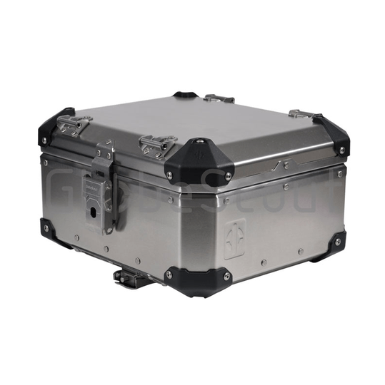 27 liter Top Case Globescout alu kleur