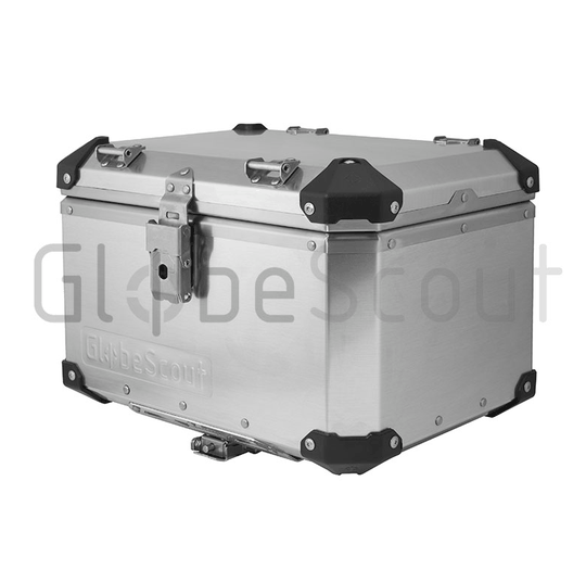47 liter Top Case Globescout alu kleur