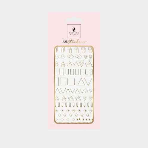 5094 - Nail Sticker Style 2 - Gold