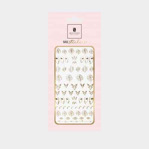 5096 - Nail Sticker Style 4 - gold