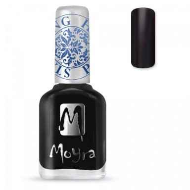 Moyra Stamping Nail Polish sp06 Black