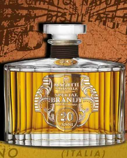 Special Brandy 20 years old in gift box 70cl