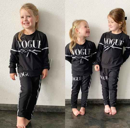 Vogue joggingset zwart