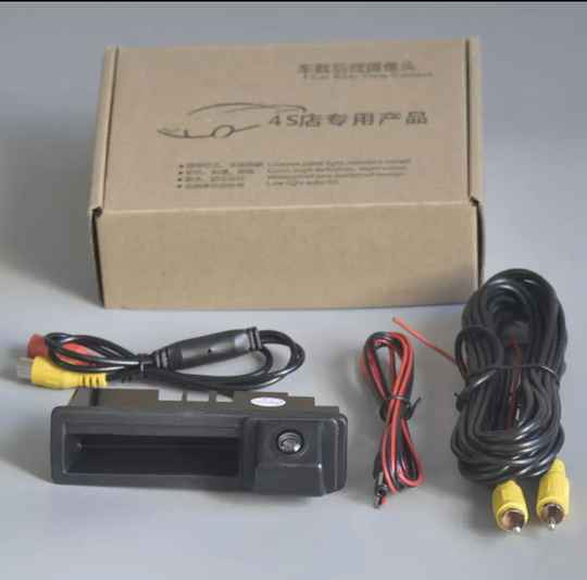 Achteruitrijcamera Voor Audi A3 voor Android scherm S3 RS3 8P 2003 ~ 2013 A4 S4 RS4 B6 b7 2003 ~ 2008 Reverse Camera Hd