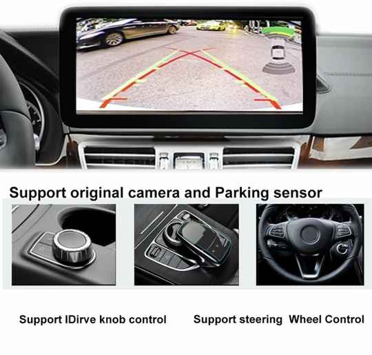 Mercedes achteruitrijcamera 2011 ~ 2018 Adapter Originele Scherm 5.0 Upgrade Display Backup Camera Decoder