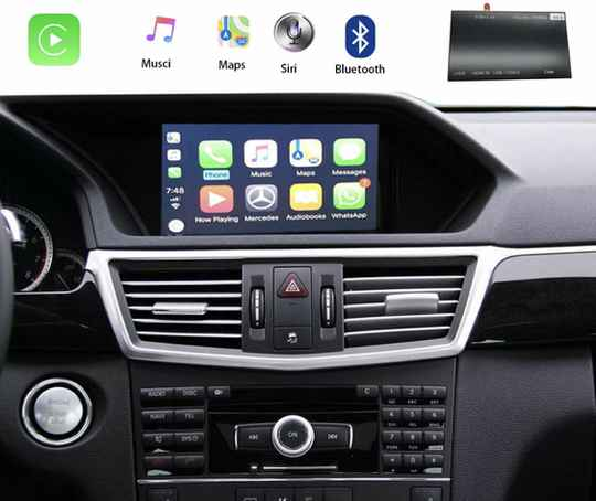 Android Auto Airplay Mercedes C W CLS CarPlay incl inbouwen