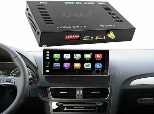 Apple Carplay Voor Audi A4 A5 Q5 A4L Mmi Auto Play Android Auto Spiegel Reverse Camera