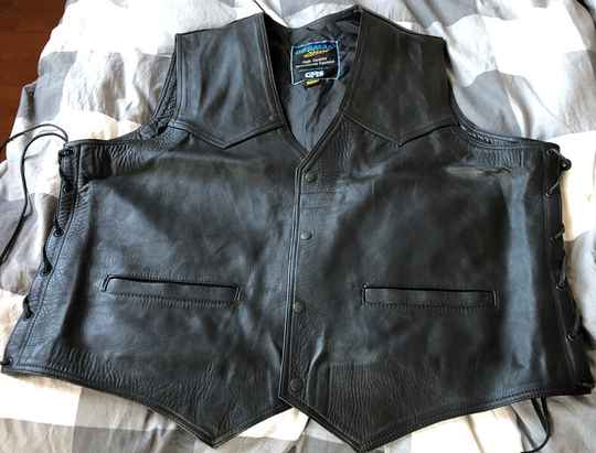 00-002 - Genuine Leather (Vest/Gilet) 6XL