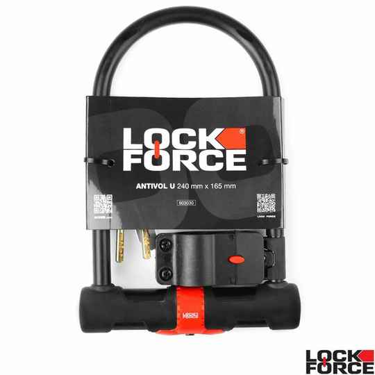 603030 - LockForce beugelslot Hercules met houder - 240x165mm