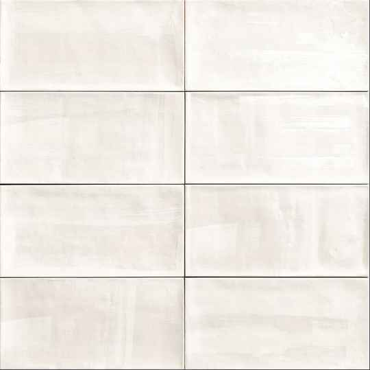 Wandtegel Acquarel White 10x20 cm