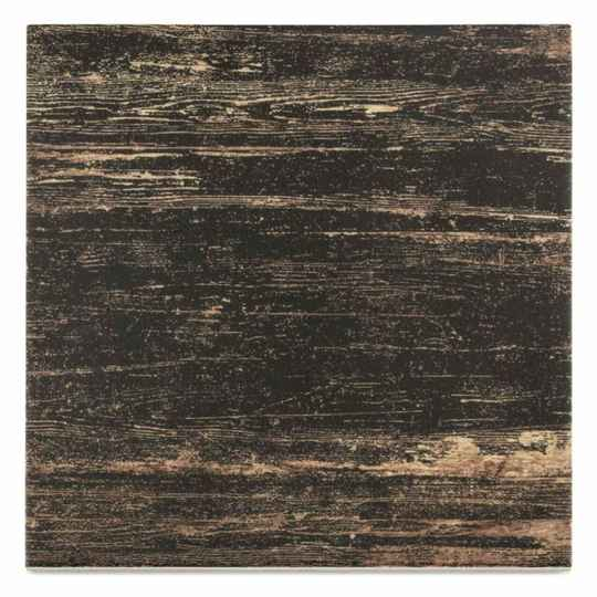 Vloertegel Vintage Wood Dark Brown 18,5x18,5 cm