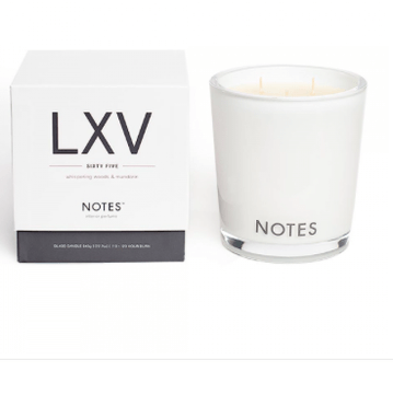 NOTES Large Candle