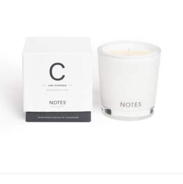 NOTES Medium Candle