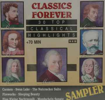 Diverse - Classics forever  30 top classical highlights