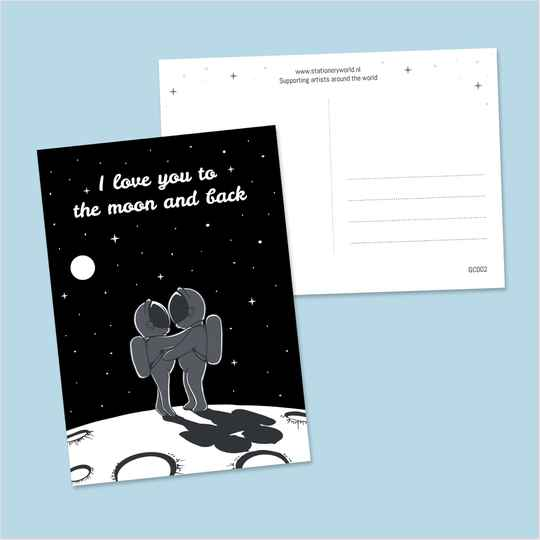 I love you to the moon and back (GC002)