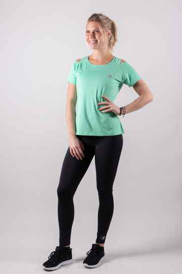 Orango -  Womens T-shirt with open shoulder - Article nr. 12043
