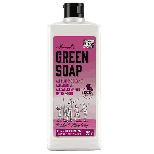 Marcel's green soap - geconcentreerde allesreiniger 750 ml - patchouli & cranberry