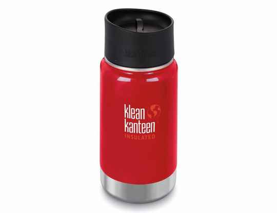 Thermosfles - Klean Kanteen - Mineral red - 355ml