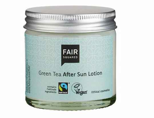 After sun lotion green tea - Fair Squared zero waste - 50 ml