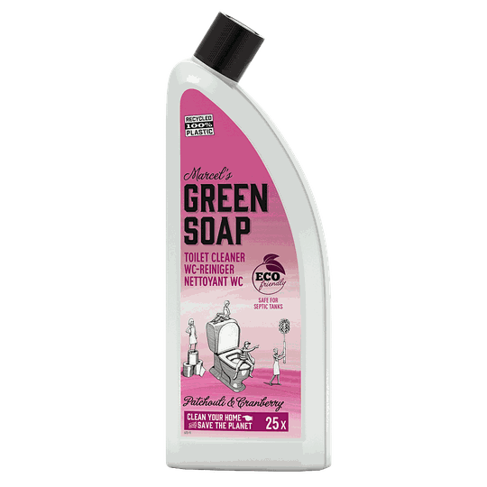 Marcel's green soap toiletreiniger 750 ml patchouli & cranberry