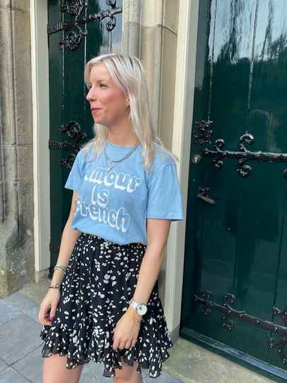 T-shirt amour is french