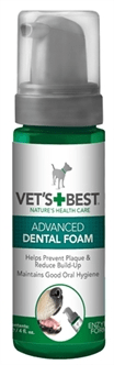 W2-391244 VETS BEST ADVANCED DENTAL FOAM 120 ML