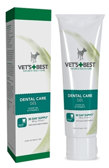 W2-384712 VETS BEST DENTAL CARE GEL HOND 100 GR.
