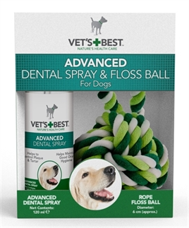W2-391247 VETS BEST DENTAL SPRAY MET FLOSS KIT