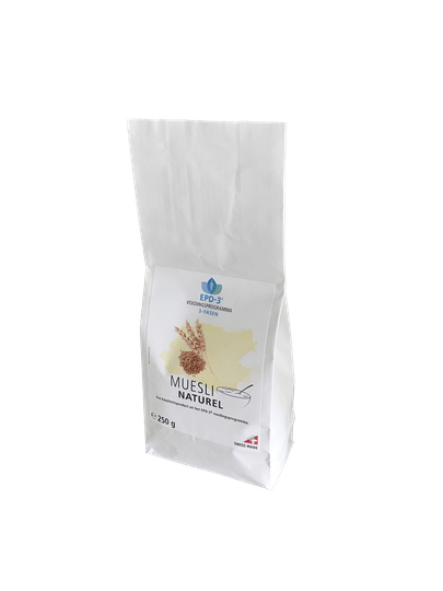 MUESLI NATUREL - 250 gram