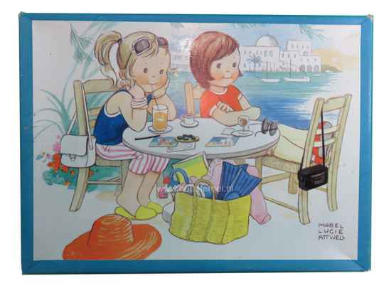 Mabel Lucie Attwell, houten puzzel