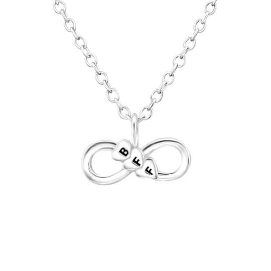 Ketting BFF (zilver 925)