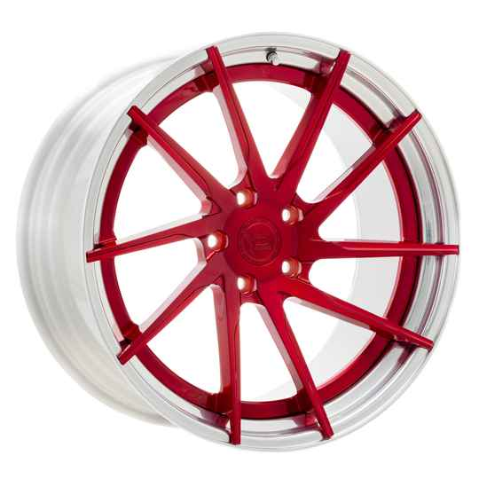 Yido Performance | YP 3.2 | FORGED CUSTOM | Candy Red/Polished Lip