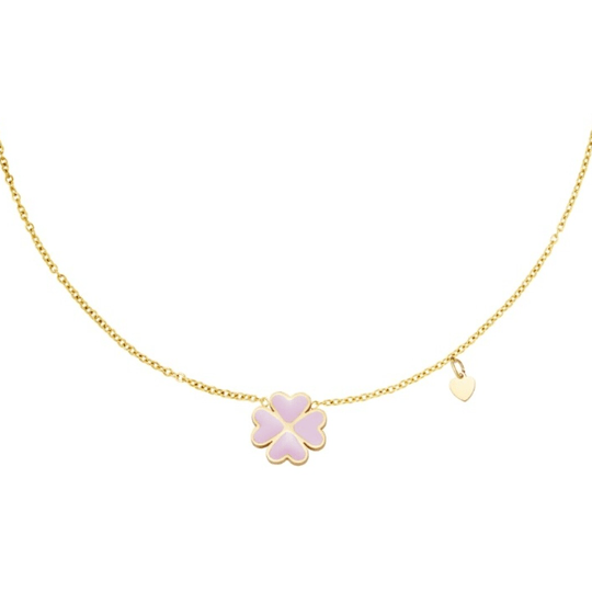 Necklace Lucky Pink