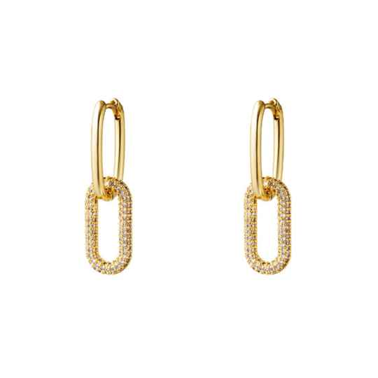Earrings Zirkonia