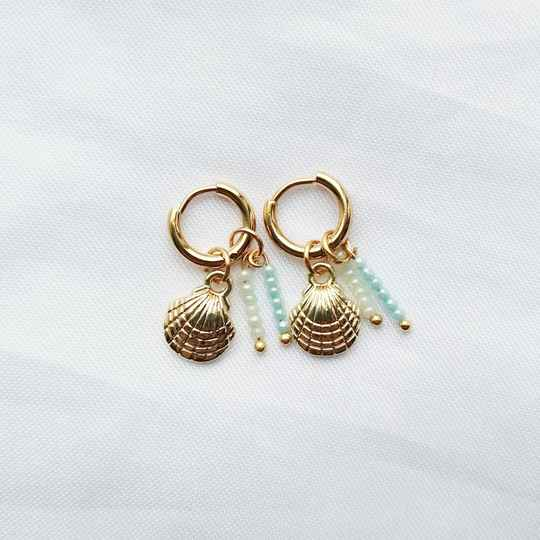 Earrings Ocean Blue