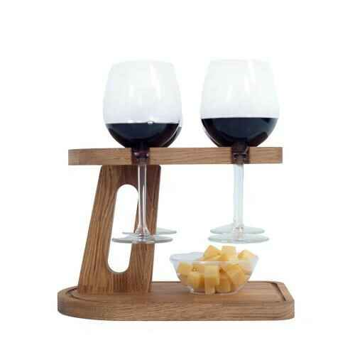 Beverage Tray In Wood