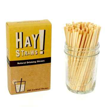 Cocktail Haystraws Strohalme 100