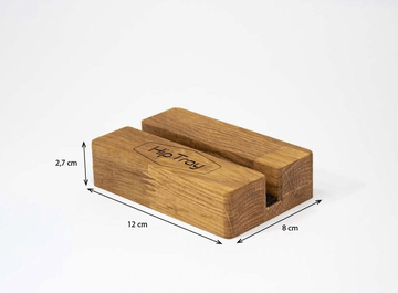 Your Logo On The Oak Block