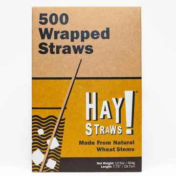 Longdrink Haystraws Wrapped 500