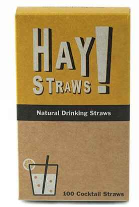 Pailles Cocktail Haystraws 100