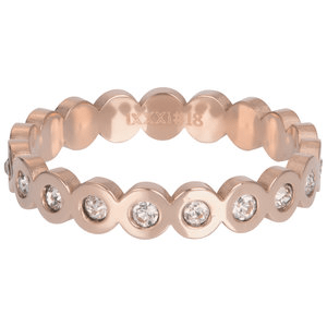 iXXXi 4mm big circle stone rosé