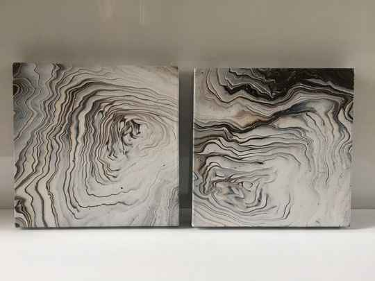 Marble Earth Collection | Els Kampert | Acrylic on Canvas