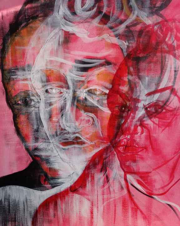 Ghost of You   Fiona J. Williams   Gestural Portriat