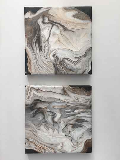 Marble Collection | Els Kampert | Acrylic on Canvas