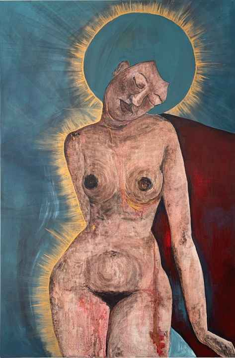 Can our Wounds be made Golden?   Fiona J. Williams   Nude