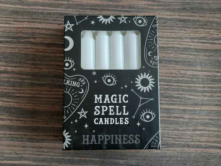 Spell candle ~ 'Happiness' (pak van 12)