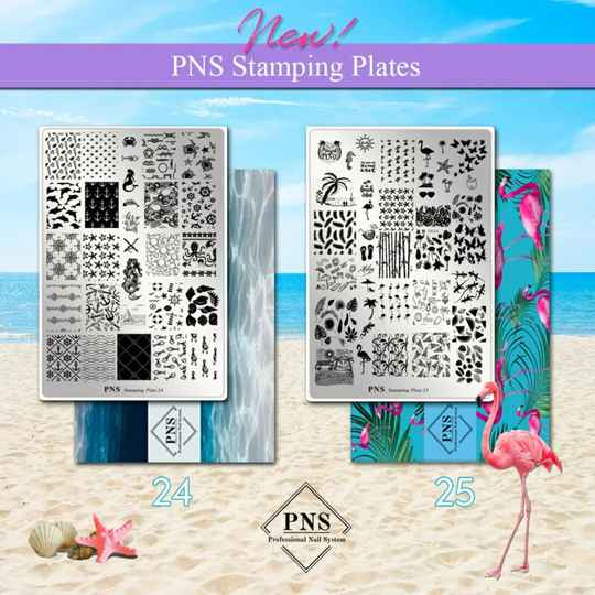 PNS Stamping Plate 24 & 25